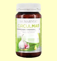 Circulmar Aceite de Ajo - Marnys - 150 cápsulas