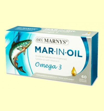 Mar-In-Oil Aceite de Salmon - Marnys - 60 cápsulas