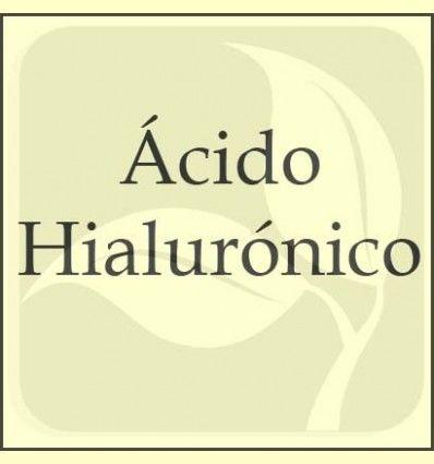 Información del Ácido Hialurónico para el organismo facilitada por Solaray - España -