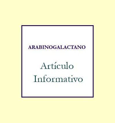 Información del Arabinogalactano