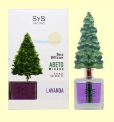 Ambientador Difusor Abeto aroma Lavanda - Laboratorio SyS - 90 ml