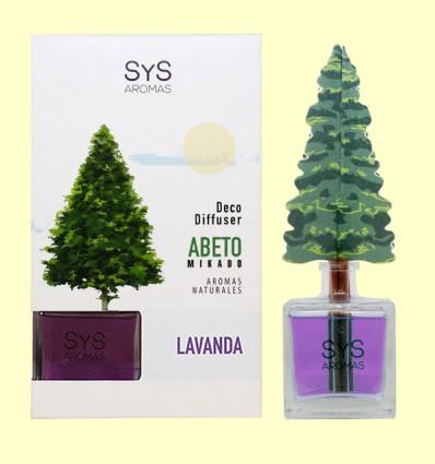 Ambientador Difusor Abeto Lavanda - Laboratorio SyS - 90 ml