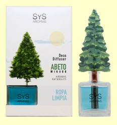 Ambientador Difusor Abeto aroma Ropa Limpia - Laboratorio SyS - 90 ml