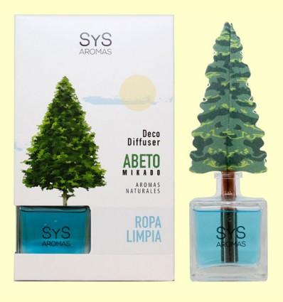 Ambientador Difusor Abeto Ropa Limpia - Laboratorio SyS - 90 ml