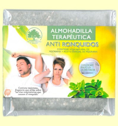 Almohadilla Terapéutica Anti Ronquidos Mejorana - Aromalia - 1 ud