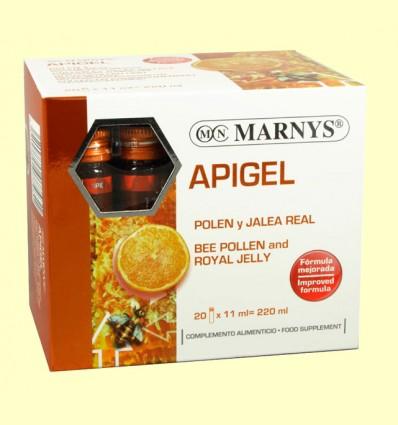 Apigel - Polen y Jalea Real - Marnys - 20 ampollas