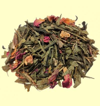 Té Verde con Fresa y Nata