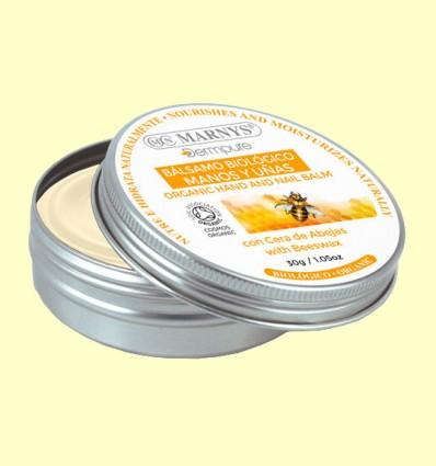 Bálsamo Manos y Uñas Bio con cera de abejas - Marnys - 30 gramos