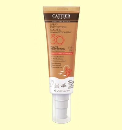 Spray protección solar SPF30 - Cattier - 125 ml
