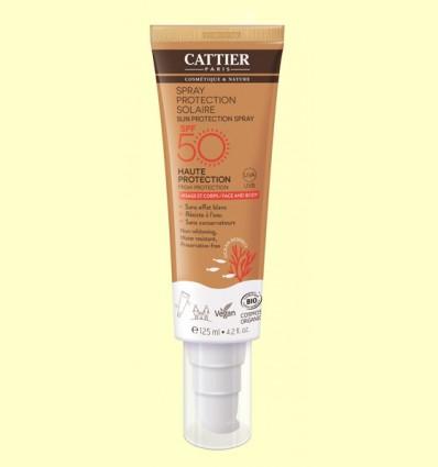 Spray protección solar SPF50 - Cattier - 125 ml