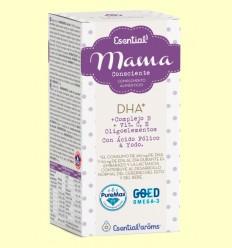 Mama DHA* + Complejo B + Vit. C, E + Oligoelementos - Esential Aroms - 30 Perlas