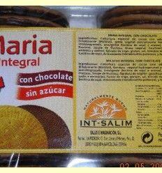 Galletas integrales maría con chocolate - Int-Salim - 240 gramos