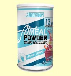 Fitmeal Powder Fresa y Plátano - NutriSport - 300 gramos
