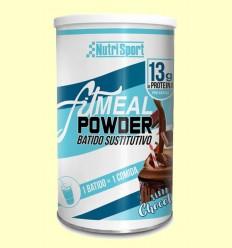 Fitmeal Powder Chocolate - NutriSport - 300 gramos