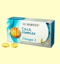 DHA Complex + Omega 3 - Marnys - 60 perlas