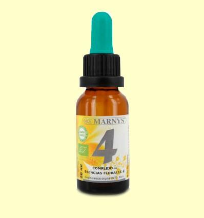 Complejo Floral Bio Fórmula 4 - Miedo - Marnys - 20 ml