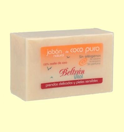 Pastilla Jabón Coco Puro - Beltran Vital - 240 gramos