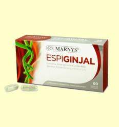 Espiginjal - Espirulina, Ginseng Coreano y Jalea Real - Marnys - 60 cápsulas