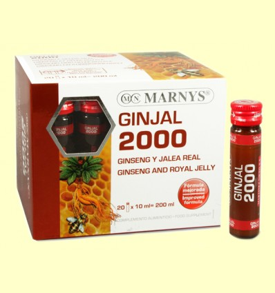 Ginjal 2000 - Ginseng y Jalea Real - Marnys - 20 viales *
