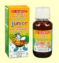 Jarabe Junior Multivitamínico con Jalea Real - Marnys - 125 ml
