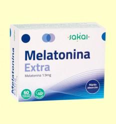 Melatonina Extra 1.9 mg - Sakai - 60 comprimidos masticables