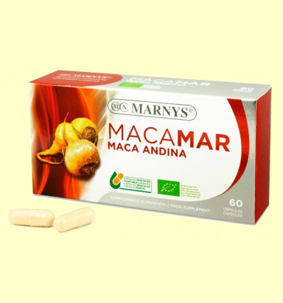 Maca Andina Bio - Macamar - Marnys - 60 cápsulas