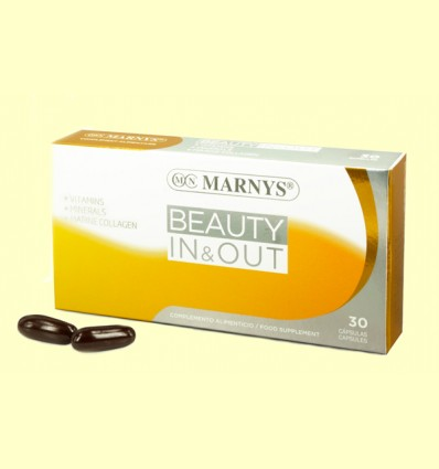 Beauty In & Out - Marnys - 30 cápsulas *