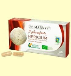 Hericium Bio - Melena de León - B-glucanforte - Marnys - 30 cápsulas