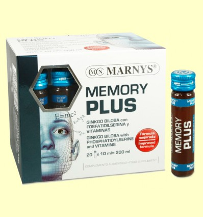 Memory Plus - Marnys - 20 viales