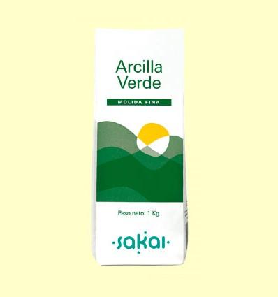 Arcilla Verde Fina - Sakai - 1 kg