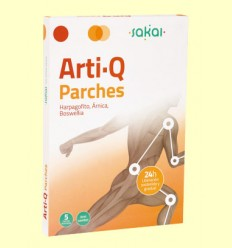 Arti-Q Parches - Articulaciones - Sakai - 5 parches