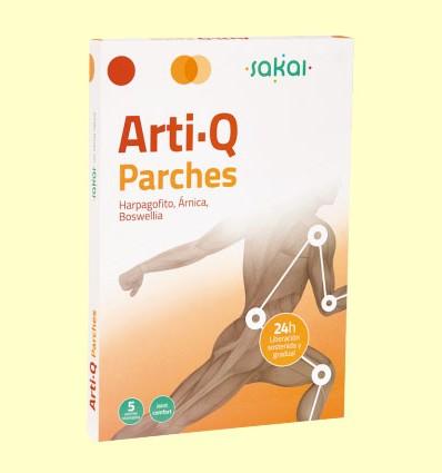Arti-Q Parches - Articulaciones - Sakai - 5 parches