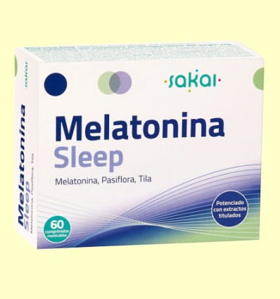 Melatonina Sleep - Sakai - 60 comprimidos