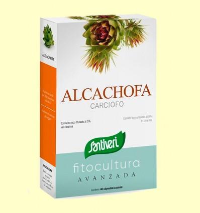 Alcachofa Cápsulas - Santiveri - 40 cápsulas