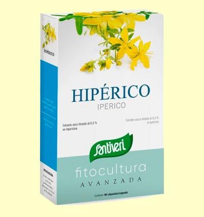 Hipérico - Santiveri - 40 cápsulas