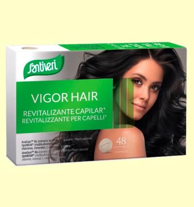 Vigor Hair Revitalizante Capilar - Santiveri - 48 Comprimidos
