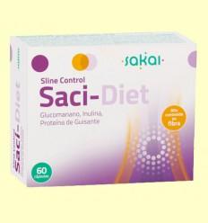 Sline Control Saci-Diet - Sakai - 60 cápsulas