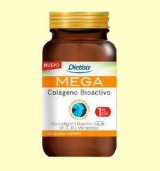 Mega Colágeno Bioactivo - Dietisa - 30 cápsulas