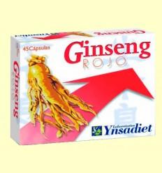 Ginseng Rojo - Ynsadiet - 45 cápsulas