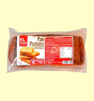 Pan Proteico con Semillas KL Protein - Ynsadiet - 365 gramos