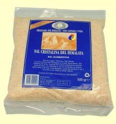 Sal del Himalaya Rosa - Evicro Madal Bal - 500 gramos