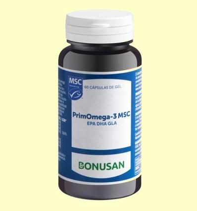 PrimOmega 3 MSC - Bonusan - 60 cápsulas