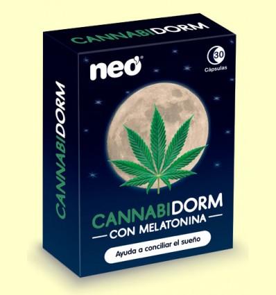 Cannabidorm con Melatonina - Neo - 30 cápsulas