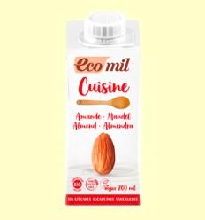 Crema de Almendra Nature Bio Sin Azúcar - EcoMil - 200 ml
