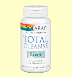 Total Cleanse Liver - Solaray - 60 cápsulas