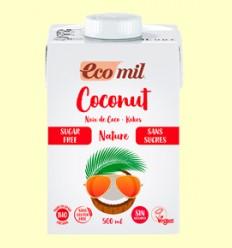 Leche de Coco Bio Sin Azúcar - EcoMil - 500 ml