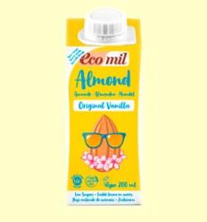 Leche de Almendras y Vainilla Original Bio- EcoMil - 200 ml