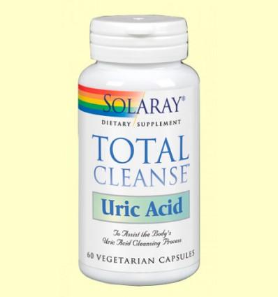 Total Cleanse Ácido Úrico - Solaray - 60 cápsulas
