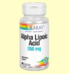 Alpha Lipoic Acid - Solaray - 60 cápsulas