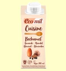 Cuisine Bechamel de Almendra Bio - EcoMil - 200 ml